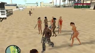 getlinkyoutube.com-GTA San Andreas : Playing with cheats #2
