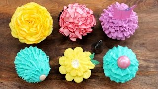 getlinkyoutube.com-6 Buttercream Frosting Styles with a PETAL Piping Tip | My Cupcake Addiction