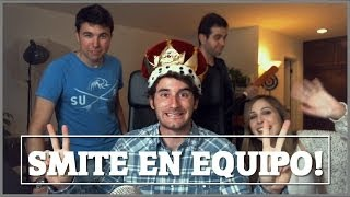 getlinkyoutube.com-SMITE con Willyrex, Lanita y Vegetta - [LuzuGames]
