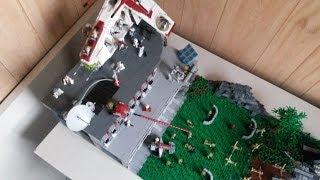 getlinkyoutube.com-HUGE LEGO Star Wars The Clone Wars Clone Base on Kashyyyk MOC