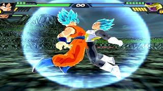 Goku SSJGSSJ and Vegeta SSJGSSJ Fusion | Vegetto SSJGSSJ | DBZ Tenkaichi 3 (MOD)