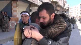 getlinkyoutube.com-بكاء هادي العبد الله لحظة تحرير جسر الشغور فرحا بالانتصار فيه وشوقا لحمص