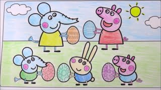 getlinkyoutube.com-PEPPA PIG E AMIGOS - VAMOS COLORIR