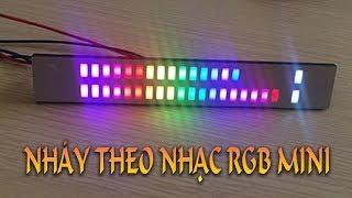 Hướng dẫn lắp đặt mạch led nháy theo nhạc RGB mini