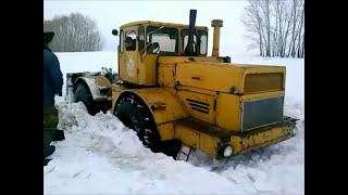 getlinkyoutube.com-Russische Traktor Kirovetz K 700 unter extremen Bedingungen.2013