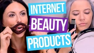 flushyoutube.com-5 Weird Internet Beauty Products (Beauty Break)
