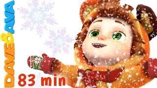 getlinkyoutube.com-Ten Little Snowflakes | Christmas Songs for Kids | Nursery Rhymes from Dave and Ava