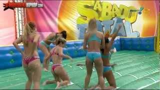 getlinkyoutube.com-Brazilian Women Playing Slip-N-Slide Soccer