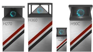 HOLOBOX - 3D Display Systems