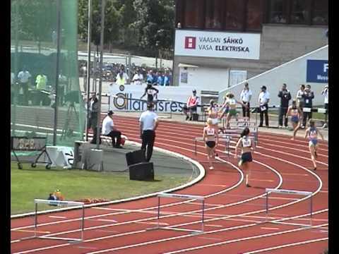 Tamara Ruben 400 hurdles Dutch Athletic team European cup 2007 Vaasa