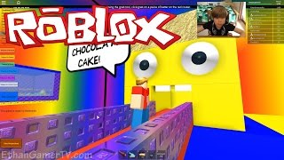getlinkyoutube.com-Make a Cake and Feed the Giant Noob | ROBLOX