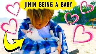 [BTS] JIMIN BEING A CUTE BABY ❤️ | Bangtan Boys