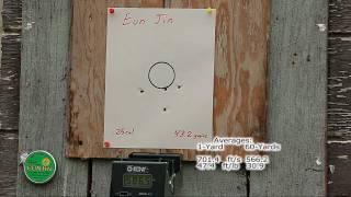 getlinkyoutube.com-Benjamin Marauder .22 & .25    «60-Yard Accuracy & Energy Test»