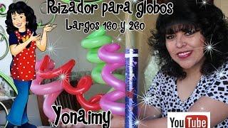 getlinkyoutube.com-RIZADOR DE GLOBLOS  LARGOS 260 Y 160 Y COMO RIZARLOS FACILMENTE PARA QUE SE VEAN COMO ESPIRALES