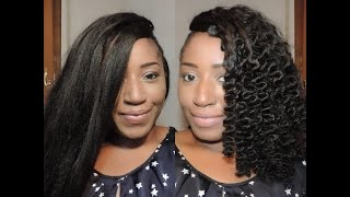 getlinkyoutube.com-HOW TO CURL SYNTHETIC HAIR, [THREADING METHOD]  |