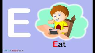 Toddler Words | Words Starting With E