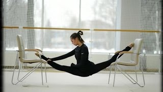 getlinkyoutube.com-Rhythmic Gymnastics Training - Heart of Courage [HD]