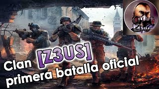getlinkyoutube.com-clan Z3US primera batalla oficial Modern Combat 4 HD