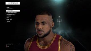 getlinkyoutube.com-How To Make Your MyPlayer Look Exactly Like LeBron James | #NBA2K16