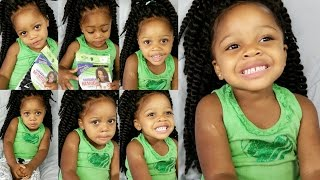 getlinkyoutube.com-Havana Mambo Twist 12''♡Protective STYLE Tutorial for Kids
