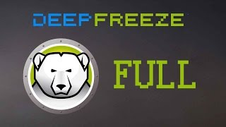 getlinkyoutube.com-DESCARGAR DEEP FREEZER STANDAR v8.30 2016 + FULL POR MEGA