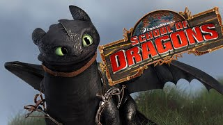 getlinkyoutube.com-School of Dragons: Dragons 101 - Toothless The Night Fury