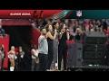 Hamilton Cast Members Perform America the Beautiful at Super Bowl LI | NFL
