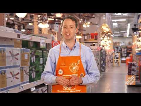 A video explaining ceiling fan installation