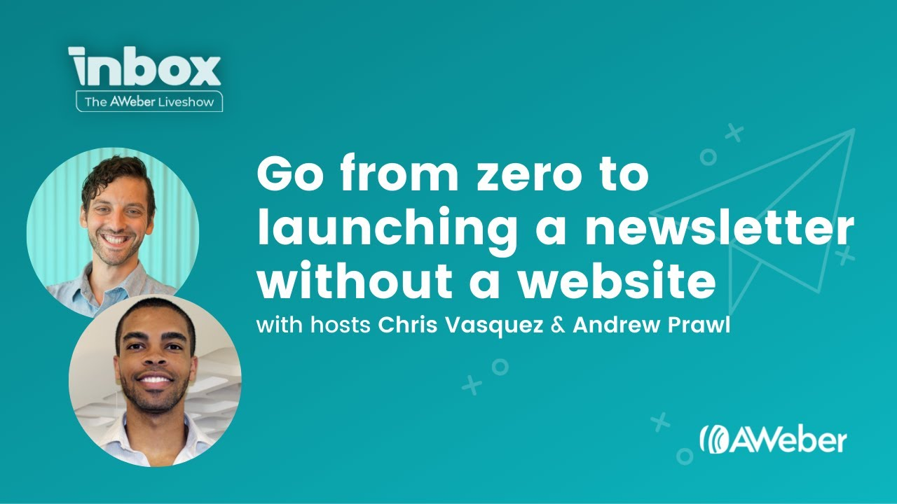Go from Zero to Launching a Newsletter without a Website