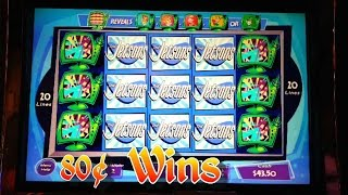 getlinkyoutube.com-The Jetsons Slot Machine - 80 Cent - Nice Win Streak
