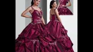getlinkyoutube.com-Pretty Quinceanera Dresses, Prom Dress Spring 2011 by Q Davinci Bridal