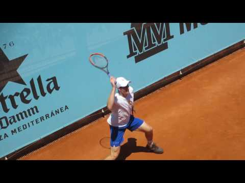 Andy Murray Practice Mutua Madrid Open 2017