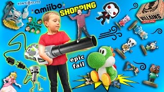 getlinkyoutube.com-AMIIBO CAN FLY!  Animal Crossing Take Over w/ Giveaway!  FAIL UNBOXING!  (FGTEEV SHOPPING Vlog)