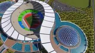 getlinkyoutube.com-AST conception d'un stade olympique a ORAN (HD) par aouni abdelhak et  alouani chakib