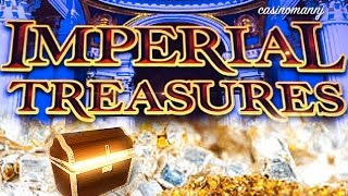 getlinkyoutube.com-IMPERIAL TREASURES Slot - Nice Win - Slot Machine Bonus