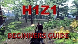 H1Z1 - Survival - beginners guide