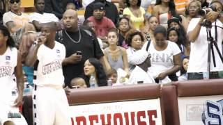 getlinkyoutube.com-Kevin Hart acts a fool at Luda Day Celebrity game 2012