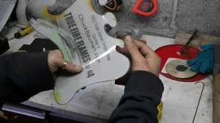 getlinkyoutube.com-Airbrush tips- How to make reusable airbrush stencils, true fire stencils