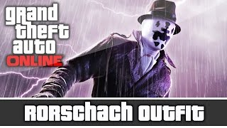 getlinkyoutube.com-GTA 5 Online - Watchmen Rorschach Outfit and Customization