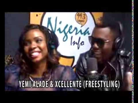Yemi Alade & Achievas Cameroonian Act Xcellente Flirt & Freestyle On Nigeria Info @yemialadee (AFRICAX5)