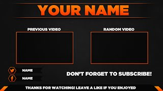 getlinkyoutube.com-Outro Template PSD | New 2015