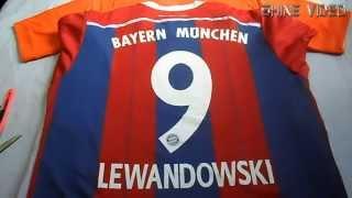 getlinkyoutube.com-Unboxing T-Shirts Soccer Aliexpress - Shine Video