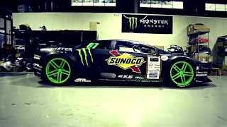 getlinkyoutube.com-Monster Energy: World's First Lamborghini Drift Car
