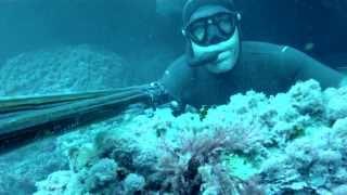 getlinkyoutube.com-Samuel Tomás, campeón de España de pesca submarina, y la pesca del mero