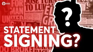 STATEMENT SIGNING? Tomorrow's Manchester United Transfer News Today! #45 width=