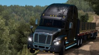 getlinkyoutube.com-Euro Truck Simulator 2 | Mercedes Benz 1632 V10 Hauling | Actros Militar.