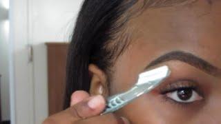 getlinkyoutube.com-Eyebrow Routine
