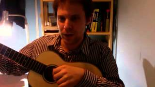 getlinkyoutube.com-Kala Ka-FMB w/ Living Water low D baritone ukulele strings - demonstration & review