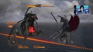 getlinkyoutube.com-Godzilla: The Game - Biollante vs Gigan and Angurius