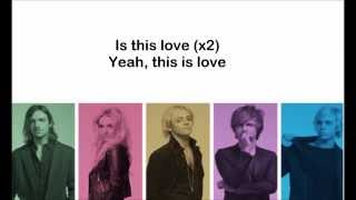 getlinkyoutube.com-R5 - I Can't Say Im In Love - LYRICS